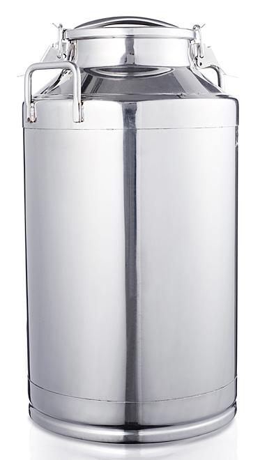 Melkbus - Melkkan 50 liter RVS afsluitbaar